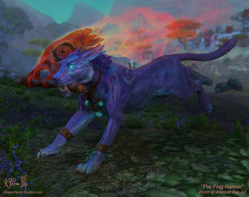 ZBrush - Week 9 - Night Elf Druid - Rendered by Dreamspirit