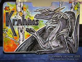 Krahnos Conbadge Commission by Dreamspirit