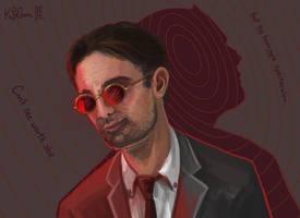 Matt Murdock (Daredevil): Avocado at Law by Dreamspirit