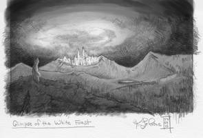 30 Day Story-Sketch Challenge: Day 3: Glimpse of.. by Dreamspirit