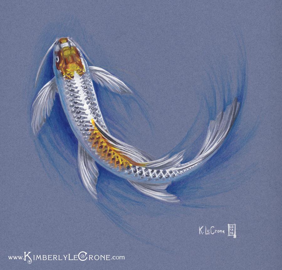 Koi Sketch by Dreamspirit