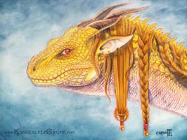 Ornate Dragon by Dreamspirit