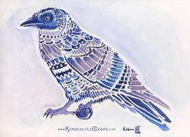 Stylized Raven by Dreamspirit