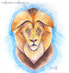 Stylized Lion by Dreamspirit