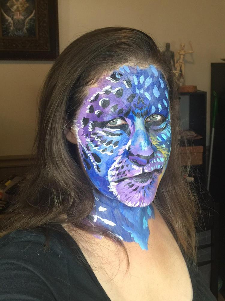 Aeterno Kymba Facepainting by Dreamspirit