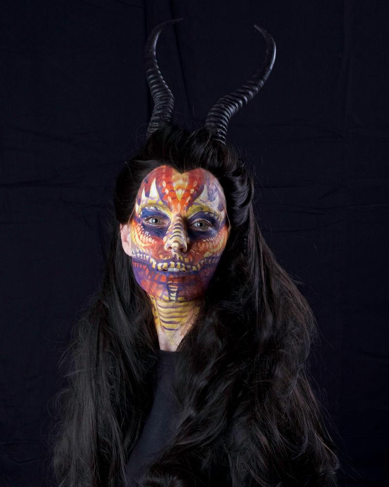 Dragon Facepainting by Dreamspirit