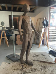 Figure Sculpt 1 by Dreamspirit