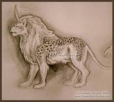 Lio-Rin Small Sketch by Dreamspirit