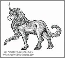 Liocorn Small Sketch by Dreamspirit
