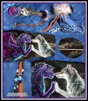 Fireeye FeatherpaintingCommish by Dreamspirit