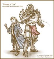 ToT: Alphonse and Edward Elric by Dreamspirit