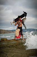 Jecht Final Fantasy X Cosplay by JFamily
