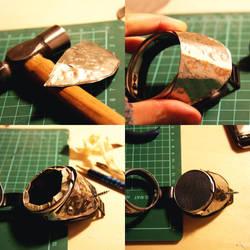 making - steampunk goggles II by dear-dead-ofelia