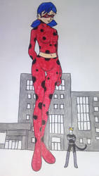 Trade Art Giantess Ladybug by booman1