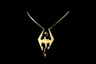 Dragon Pendant by obsidiandevil