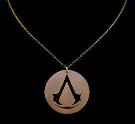 Assassin's Creed Necklace by obsidiandevil