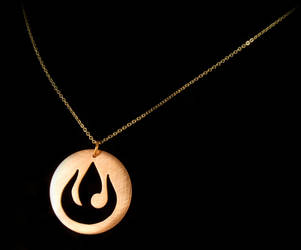 Re-design Fire Nation Pendant by obsidiandevil