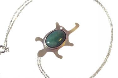 Turtle Pendant by obsidiandevil