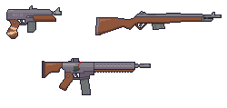 Weapons - Pixel Art by Auuug