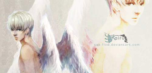 Stare of an Angel by sea-flow