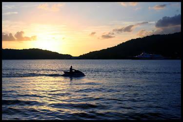 Sunset 1 by lunibin
