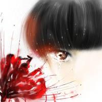 tears of manjusaka by Lescca