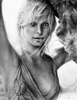 Charlize Theron by Blacleria