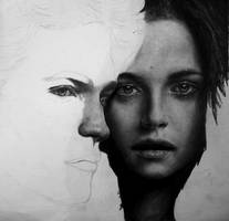 Bella and Edward WIP by Blacleria