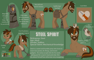 Steel Spirit (Updated) by BlitheDragon