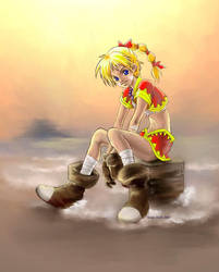 Kid - Chrono Cross by coffingirl