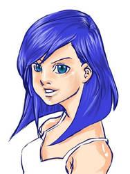 Random anime girl by coffingirl