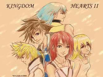 Kingdom Hearts II by coffingirl