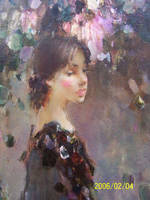 Oil Painting III by curryQ