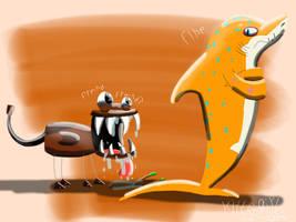 .:Jawg  Sand Shark:. by kittygirlxjanax