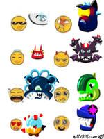 Emoji Meme: Mixels by kittygirlxjanax