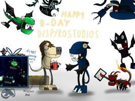 Happy B-Day Dispyrostudios  by kittygirlxjanax