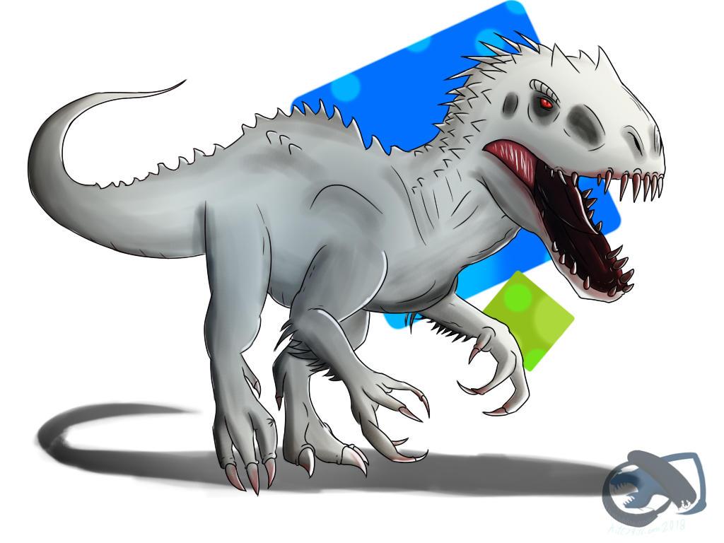 Indominus Rex by kittygirlxjanax