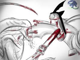 XT3 Versus The Batsput by kittygirlxjanax