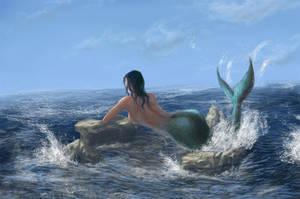Mermaid II by El-Chupacabras