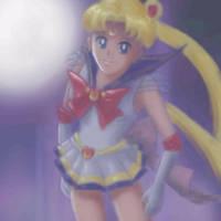Super Sailor Moon by El-Chupacabras