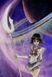 Sailor Saturn Attack by El-Chupacabras