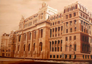 Argentinian National Justice Palace by argentinian-queen