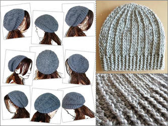 Slouchy hat by argentinian-queen