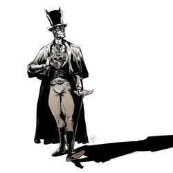 Victorian Batman by Mitt-Roshin