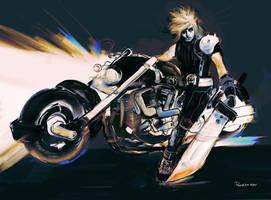 Final Fantasy7 Cloud by ch-peralta