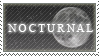 Nocturnal Stamp by Clockwerk-chan