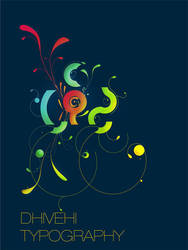 dhivehi typography by faisalsaeed