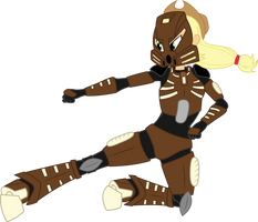 AJ, Toa of Stone by ShadyHorseman