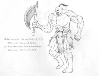Orc Sketch-Up by ShadyHorseman