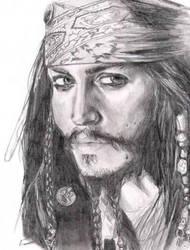 Jack Sparrow by Zedk